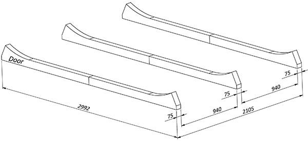 bilde Plassering av bein til badstue for oval badstu-1