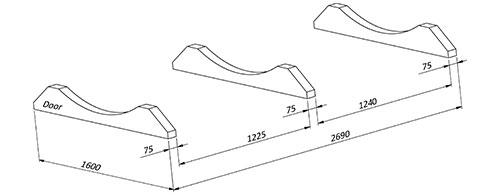 bilde S3-Plassering av bein til badstue