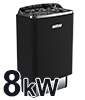 Elektrisk 8kW (400V)
