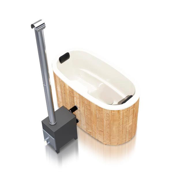 bilde 4 badestamp for 2 pers i glassfiber